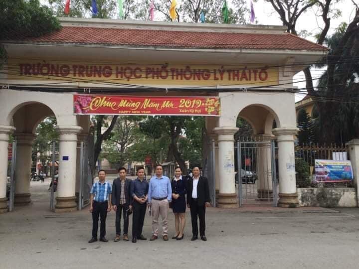 TTổ chức tọa đàm tại Trường THPT Lý Thái Tổ - Từ Sơn - Bắc Ninh
