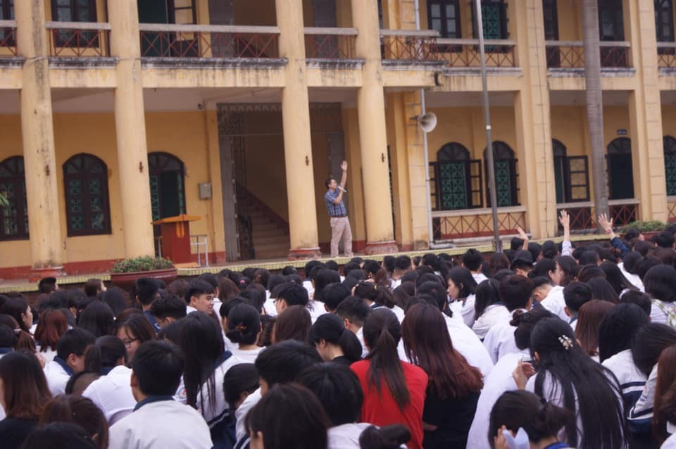 TVNAS tổ chức Tọa đàm tại trường THPT A Phủ Lý