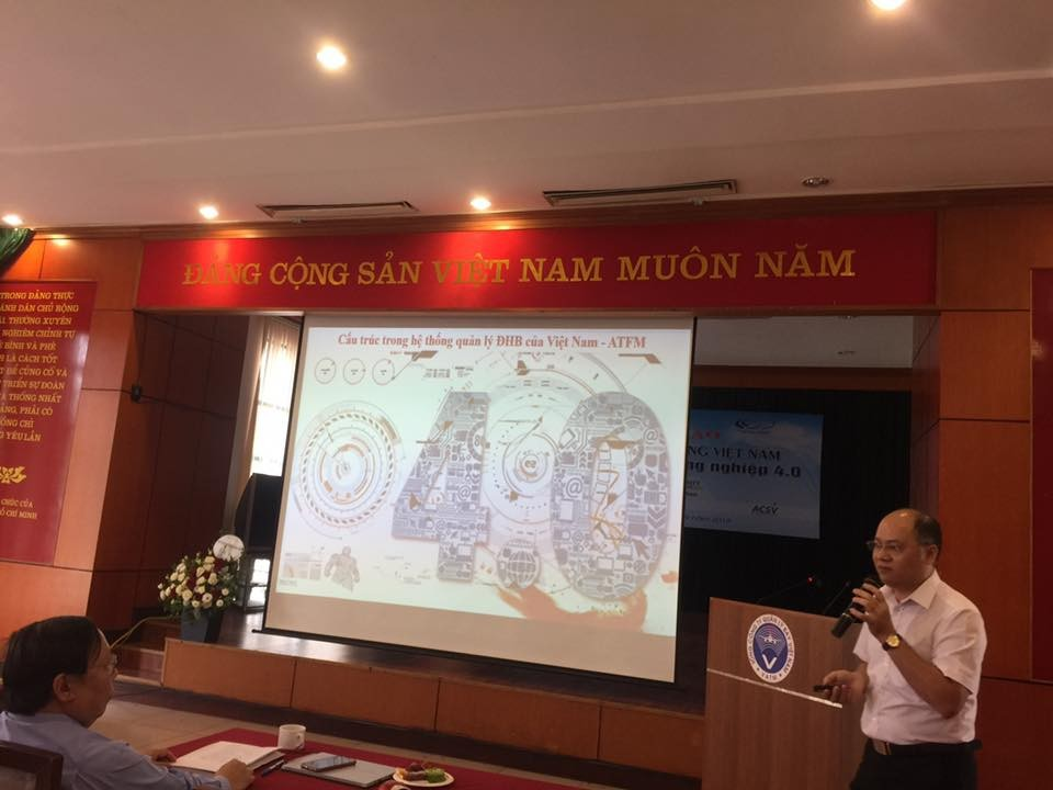 """TVNAS tham dự Hội thảo Ngành Hàng không Việt Nam với """"Cách mạng  công nghệ 4.0"""""""