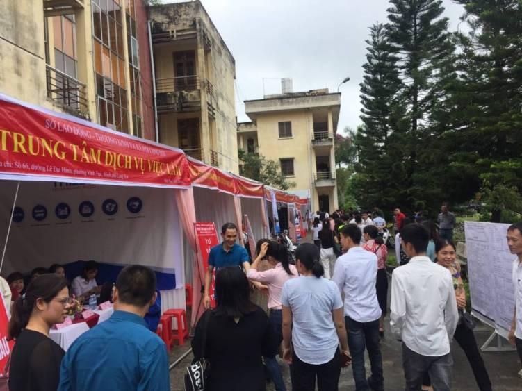 Mang cơ hội việc làm đến với lao động tỉnh Lạng Sơn