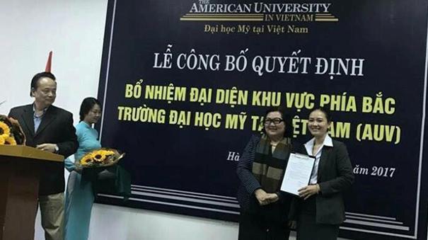 TVNAS - đơn vị ủy thác của Đại học Mỹ  tại Việt Nam và chương trình tọa đàm tuyển sinh tại các trường THPT, THCS