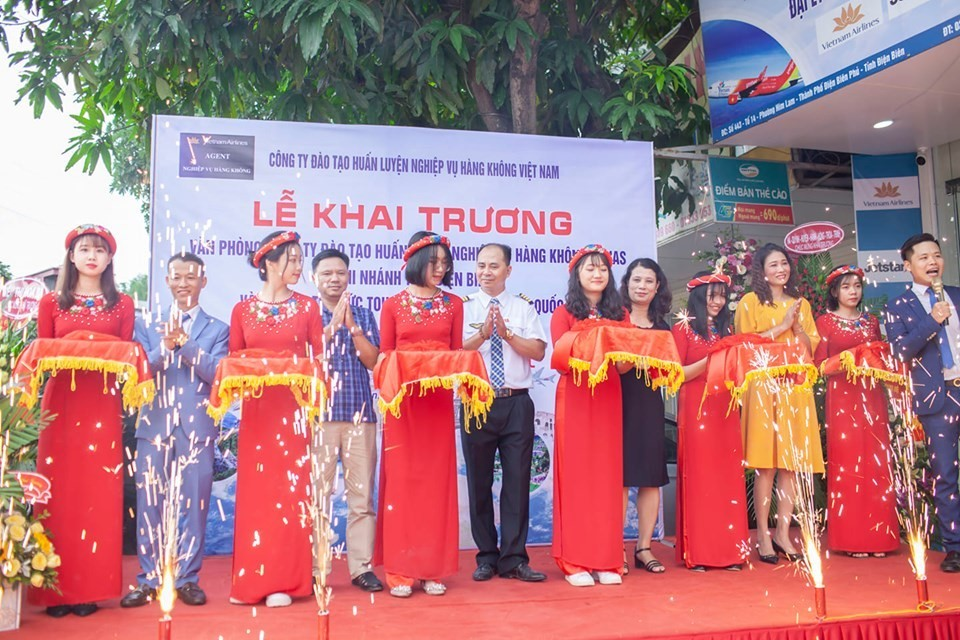VNAS khai trương Văn phòng tư vấn tuyển sinh ngành Hàng không chi nhánh Điện Biên