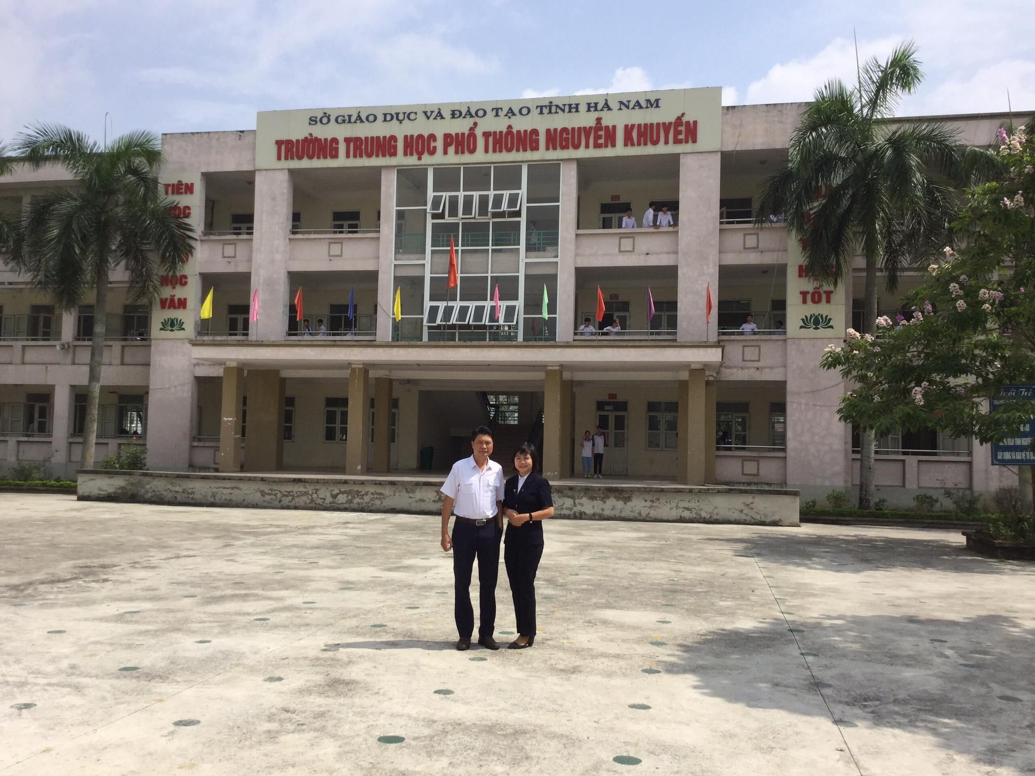 VNAS chuẩn bị cho buổi tạo đàm hướng nghiệp nghề Hàng không tại Trường THPT Nguyễn Khuyến tỉnh Hà Nam