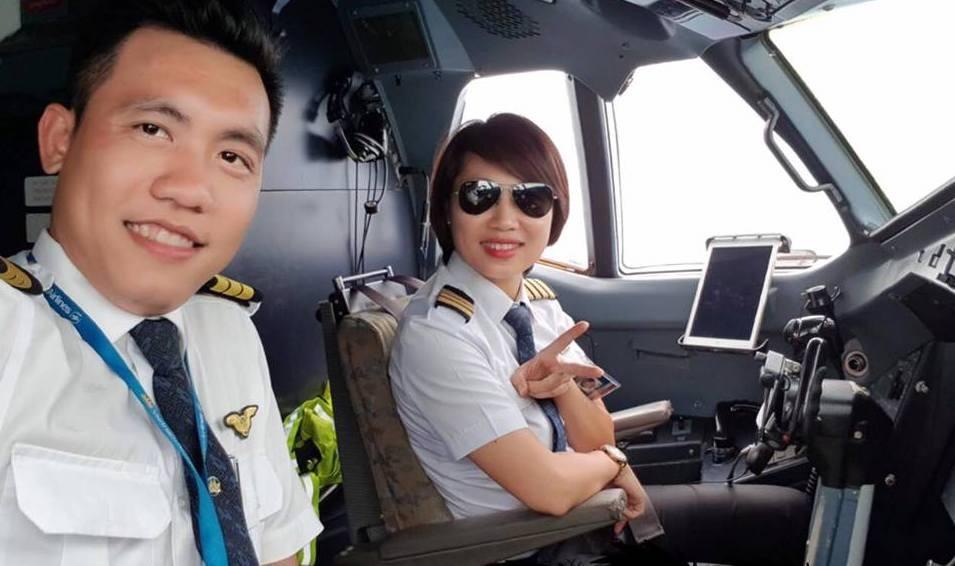Phụ nữ lái máy bay cũng không có gì khác nam giới