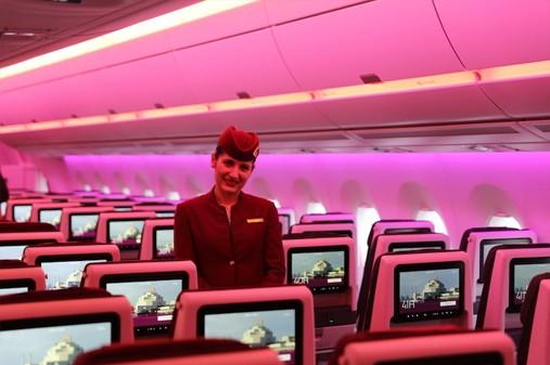 Màu sắc trên máy bay ảnh hưởng thế nào đến hành khách?