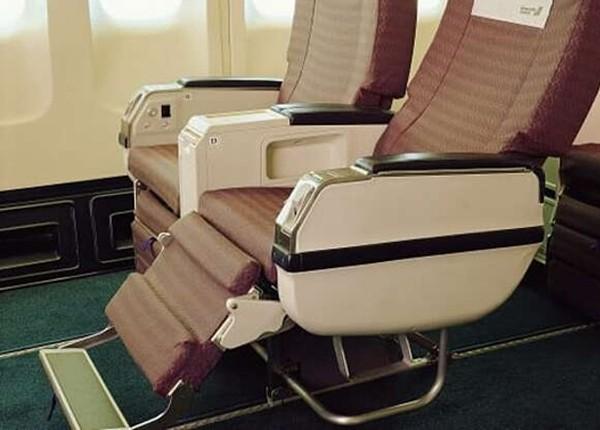 Chiếc ghế máy bay 'hot' nhất 2021