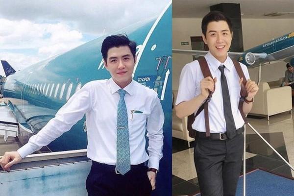 Diện mạo 5 nam tiếp viên hàng không điển trai 'hot' nhất mạng xã hội