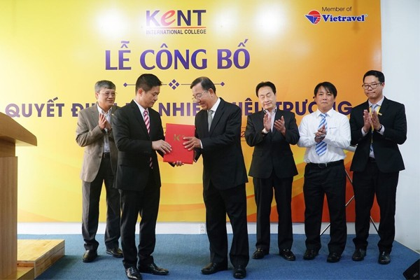 Vietravel Holdings công bố quyết định bổ nhiệm Tổng giám đốc Công ty CP Quốc tế Kent kiêm Hiệu trưởng Trường KENT