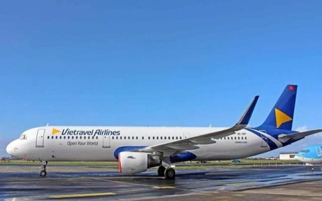 TTân binh Vietravel Airlines nhận chiếc máy bay đầu tiên