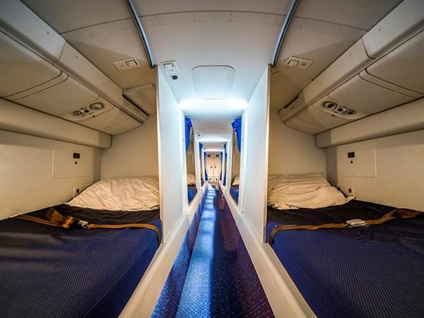 TBí mật bên trong khoang nghỉ của các Tiếp viên hàng không