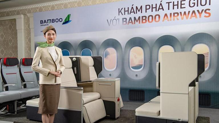 BAMBOO AIRWAYS tuyển dụng Vị trí Nhân viên Phòng Khách Hạng Thương Gia - Sân Bay Nội Bài