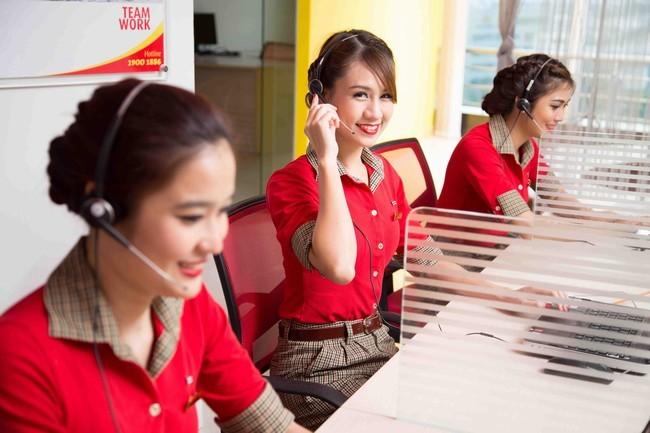 TVietjet Air - Tân Bình tuyển: Tổng Đài Viên Dịch Vụ Hàng Không