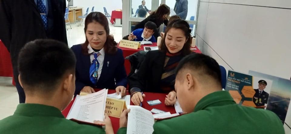 TVNAS tham dự Phiên Giao dịch việc làm dành cho Bộ đội xuất ngũ