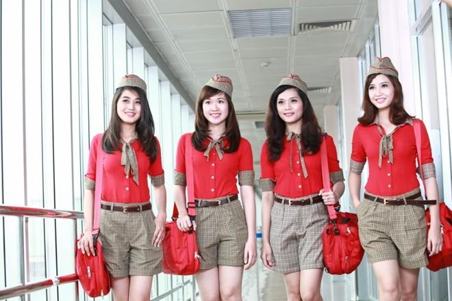 VIETJET AIR tuyển dụng nhân Viên Phục Vụ Hành Khách (Làm Việc Tại Sân Bay Nội Bài - Hà Nội)