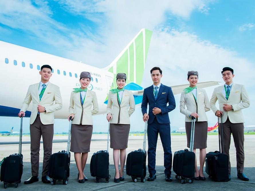Bamboo Airways tuyển dụng  Tiếp viên hàng không Tháng 10&11