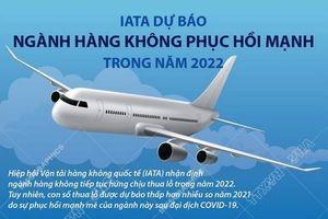 T[Infographics] IATA dự báo ngành hàng không phục hồi mạnh năm 2022