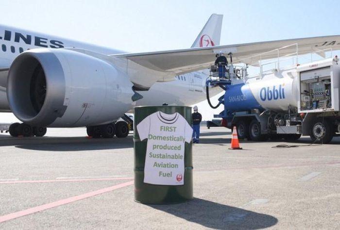 TNhiên liệu xanh cho ngành hàng không