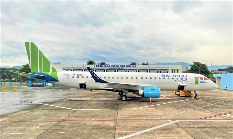 Hàng không Bamboo Airways khai trương đường bay thẳng Hà Nội/TP Hồ Chí Minh - Điện Biên