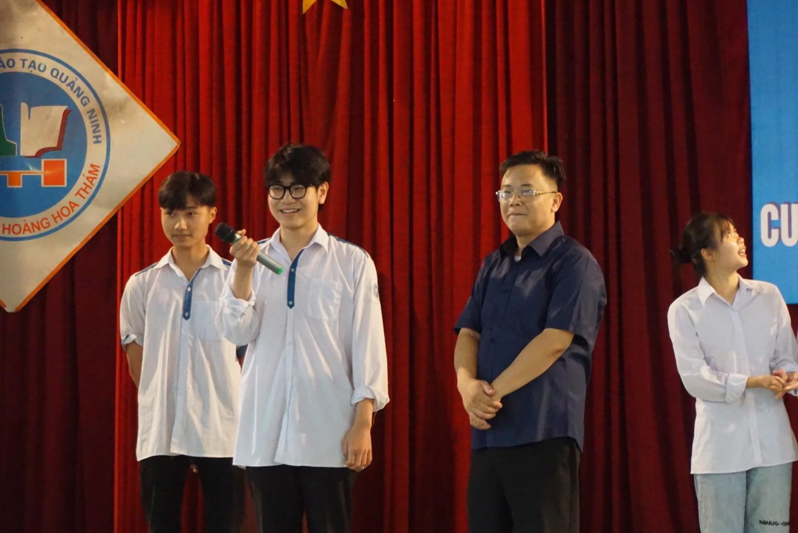 VNAS tham gia tư vấn, định hướng nghề nghiệp cho học sinh trên địa bàn thị xã Đông Triều, tỉnh Quảng Ninh