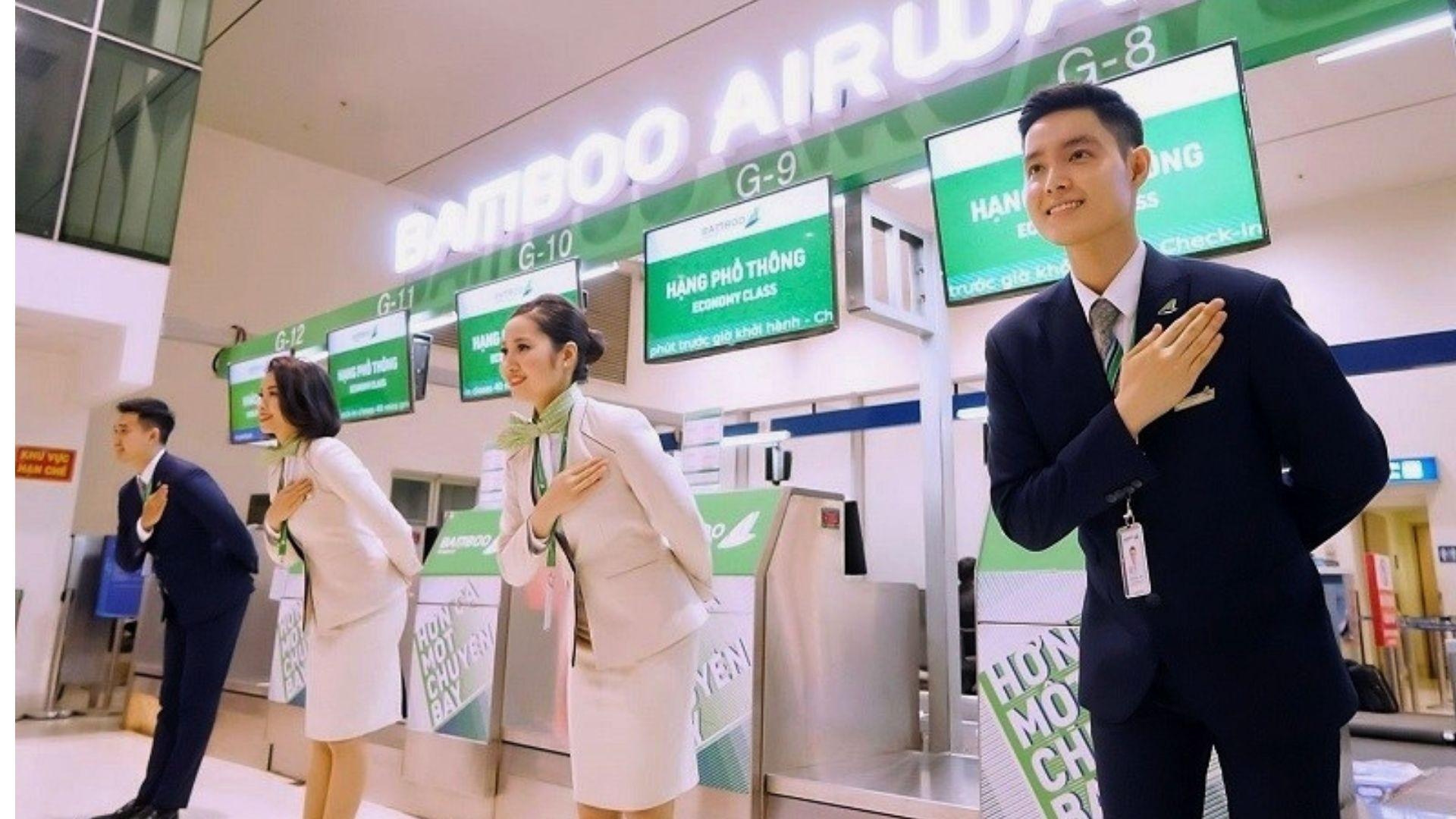 TBamboo Airways tuyển dụng Trưởng phòng vé - Sân bay Nội Bài
