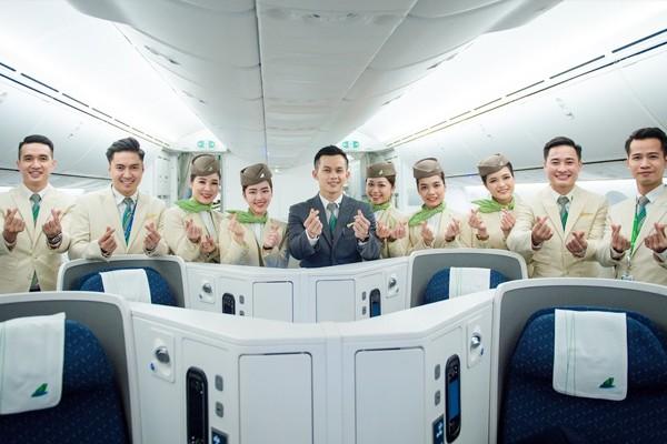 TBAMBOO AIRWAYS TUYỂN DỤNG THỰC TẬP SINH ĐOÀN BAY
